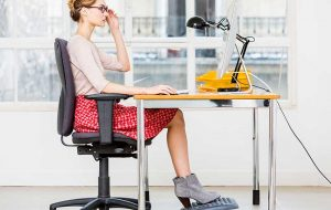 Achieving good posture in the workplace